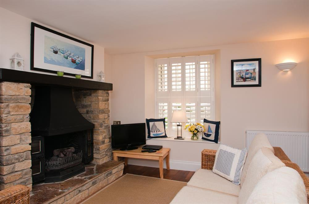 Cosy sitting area at Courtyard House in , Dartmouth