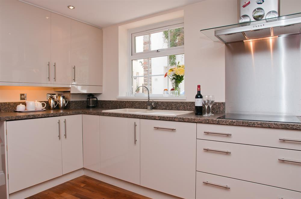 Kitchen at Courtyard House in , Dartmouth