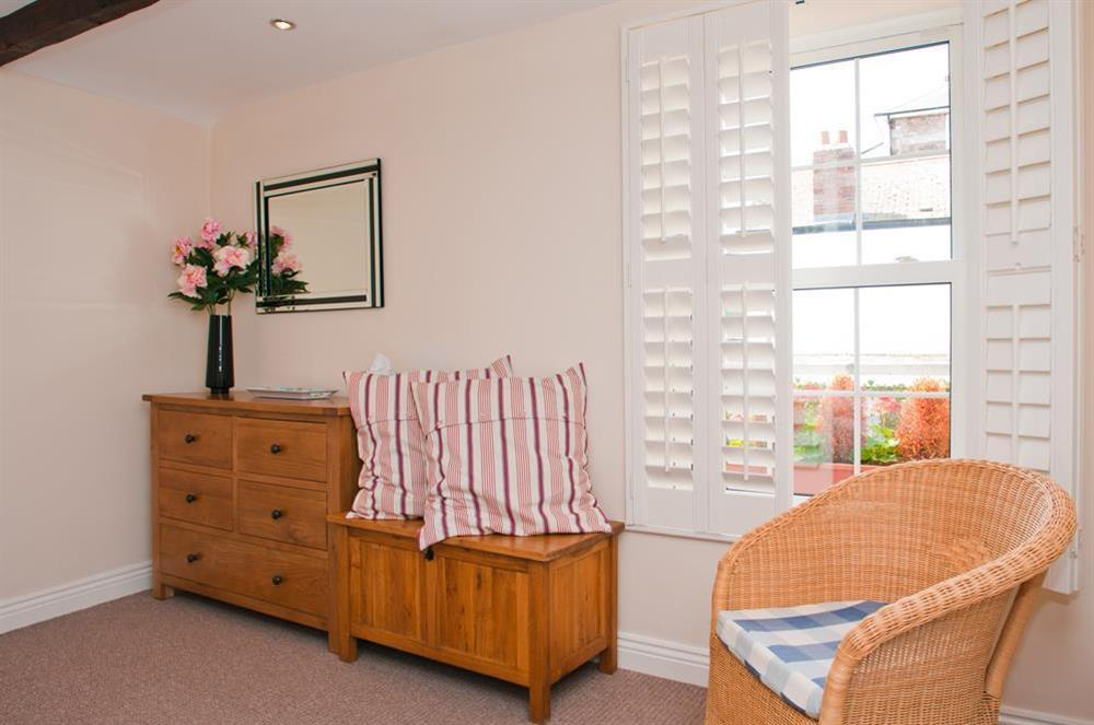 Master bedroom at Courtyard House in , Dartmouth