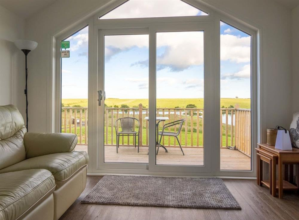 Light, bright and airy open plan living with wonderful view at Mallard Lodge,