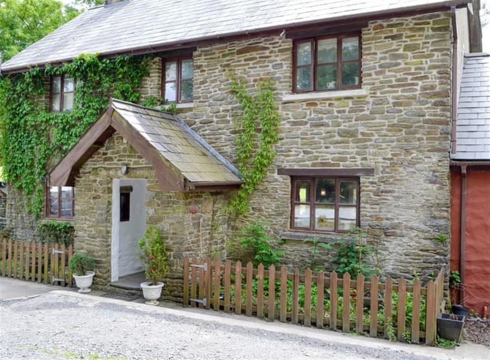 Stunning frontage of the stone-built holiday home