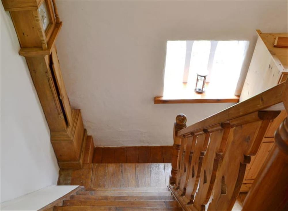 Details throughout the property including the stairs