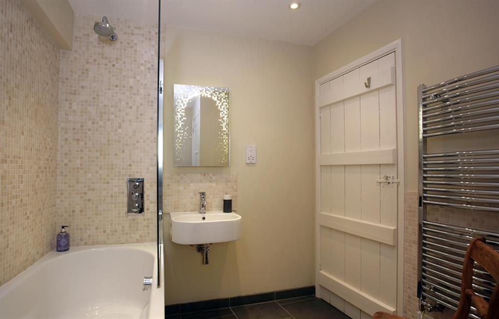 Another view of the bathroom, at Crab Cottage, Stoke Gabriel
