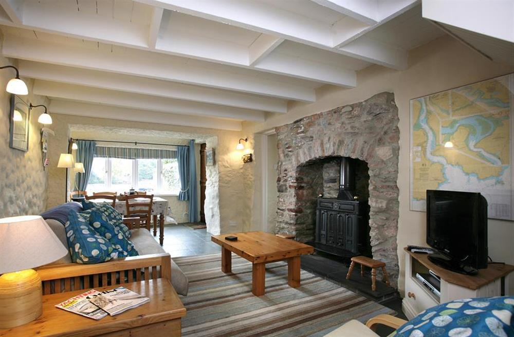 Another view of the lounge at Crab Cottage, Stoke Gabriel