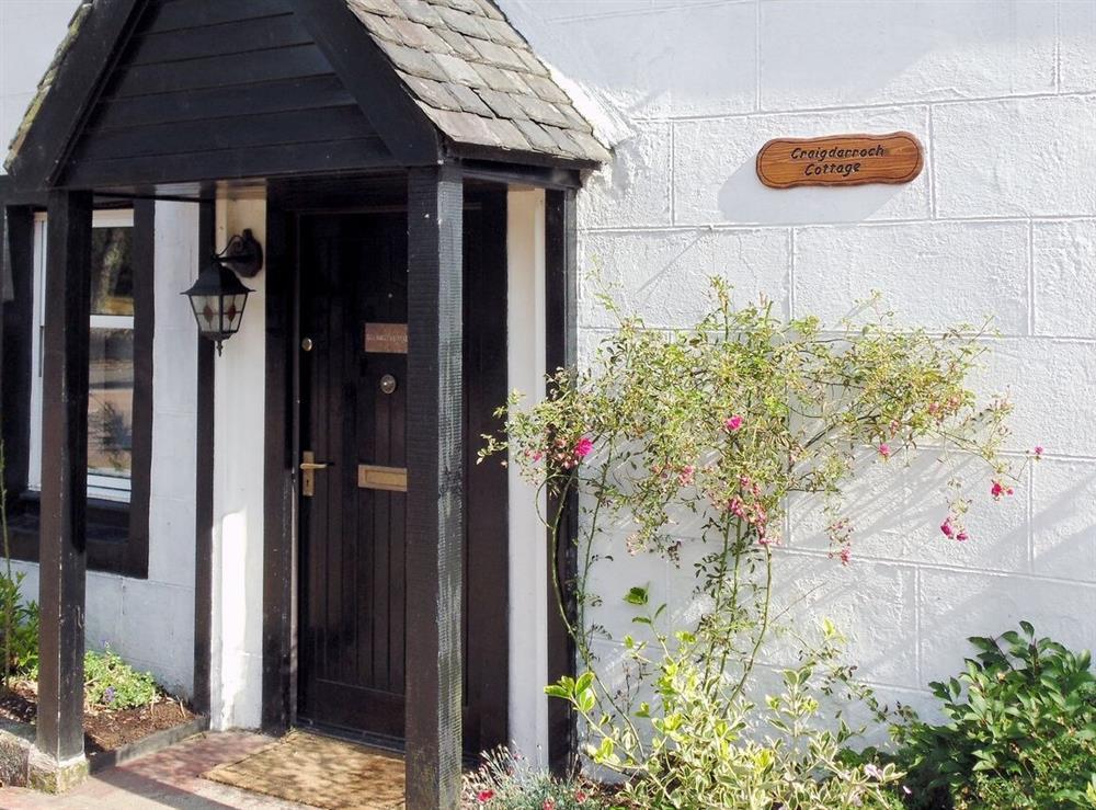 Exterior at Craigdarroch Cottage in Callander, Perthshire
