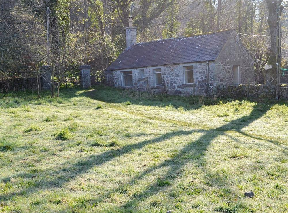 Exterior at Craigrannoch Cottage in Dalbeattie, Kirkcudbrightshire