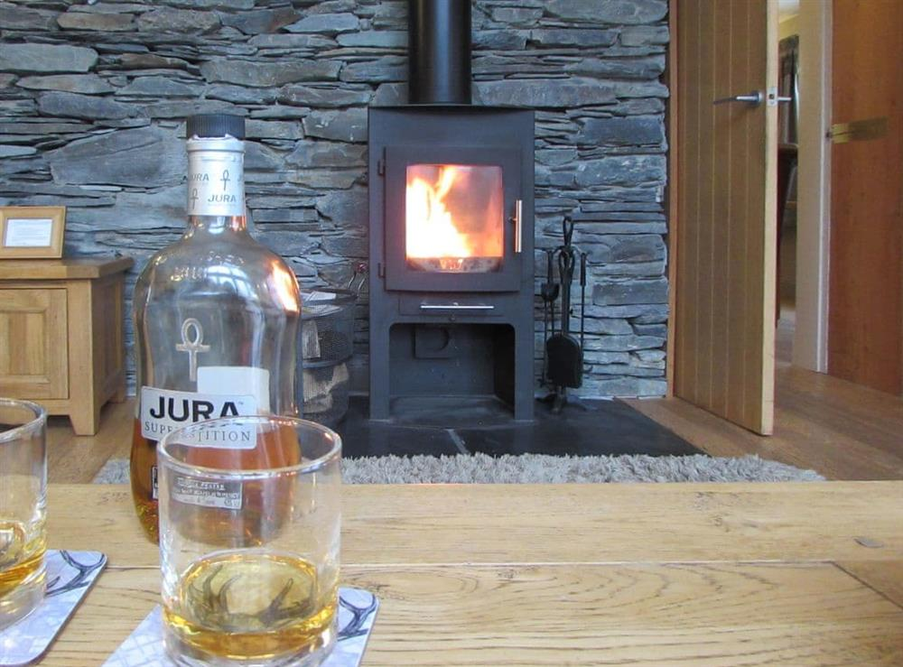 Living room at Cruach Dubh,