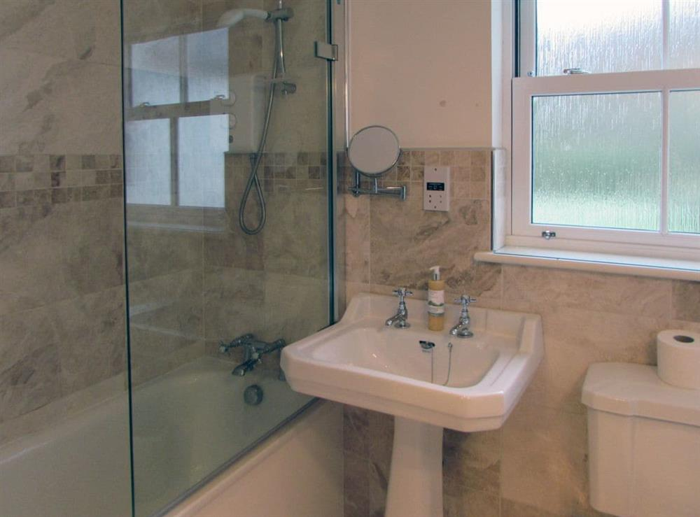 Bathroom at Pipers Cottage,