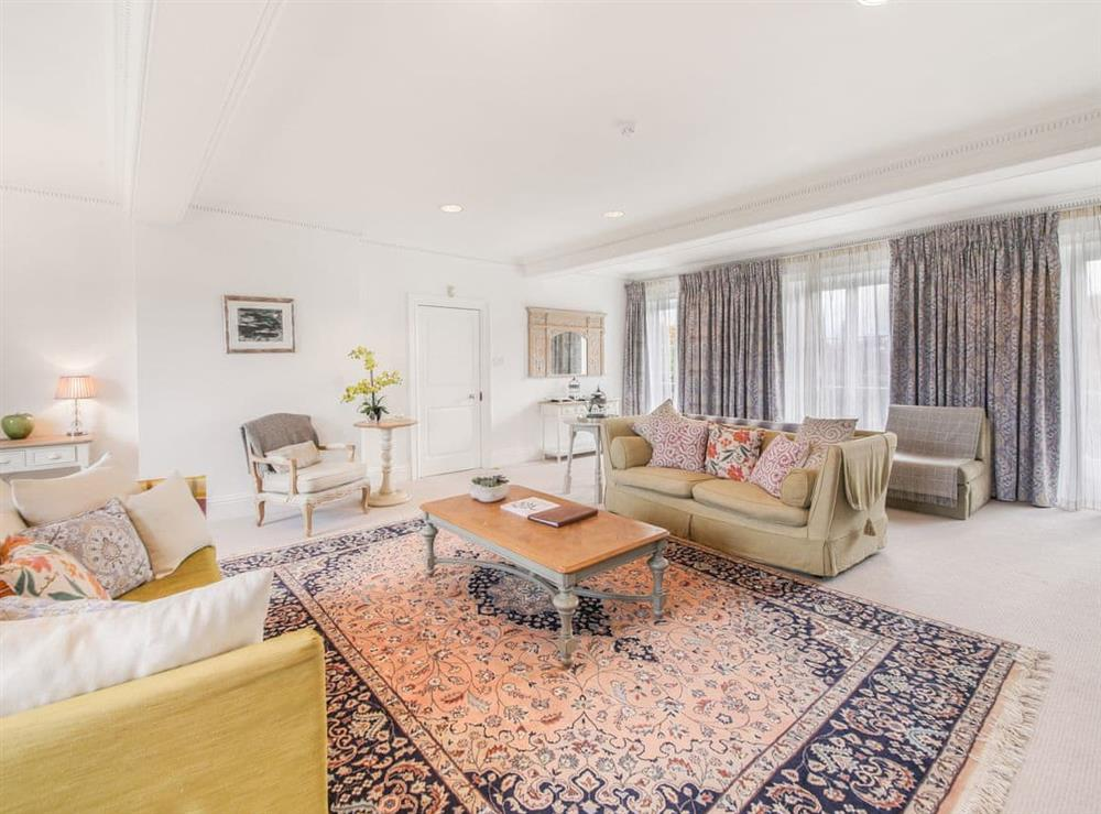 Living area at Court Suite at Craven House,