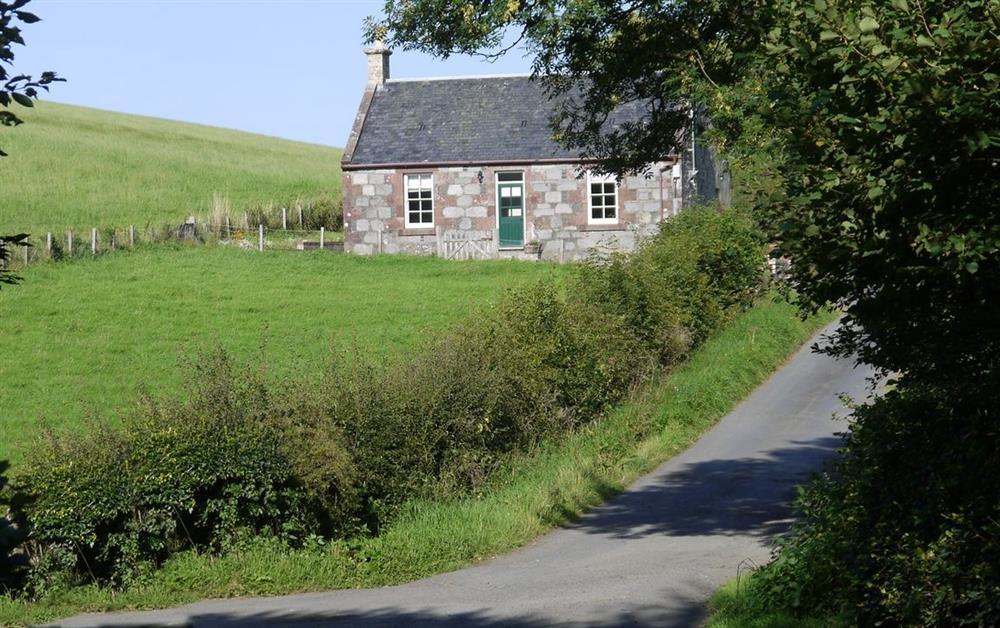 Photo 1 at Crawfordston Cottage in Maybole, Ayrshire