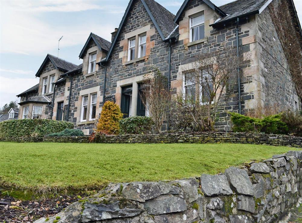 Lovely semi-detached property at Creag Darach Cottage in Aberfoyle, near Callander, Stirlingshire, Scotland