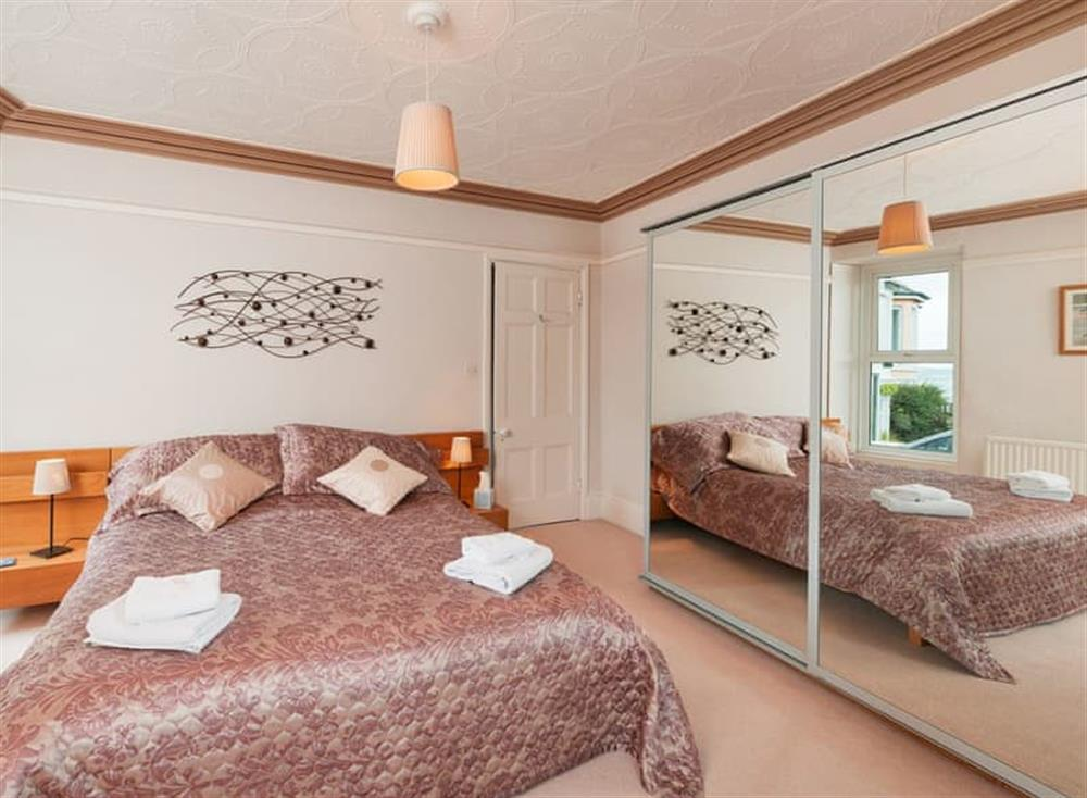 Double bedroom at Creels in Brixham, South Devon