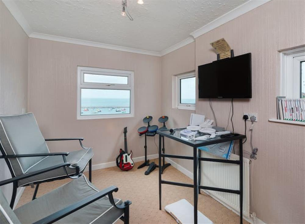 Games room at Creels in Brixham, South Devon