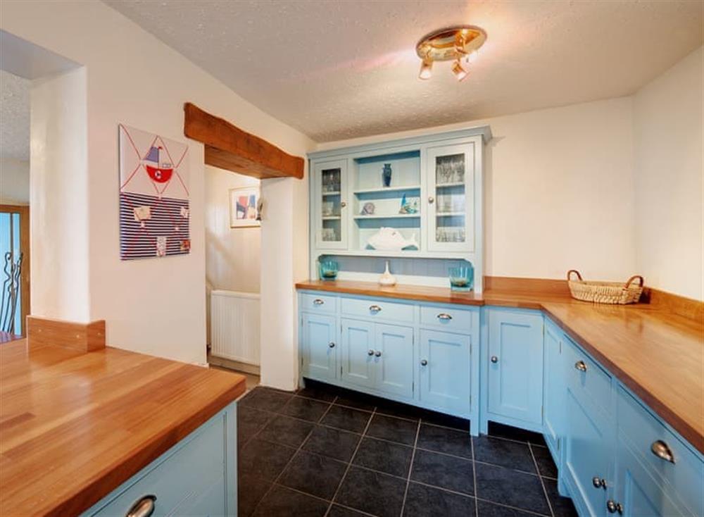 Kitchen at Creels in Brixham, South Devon