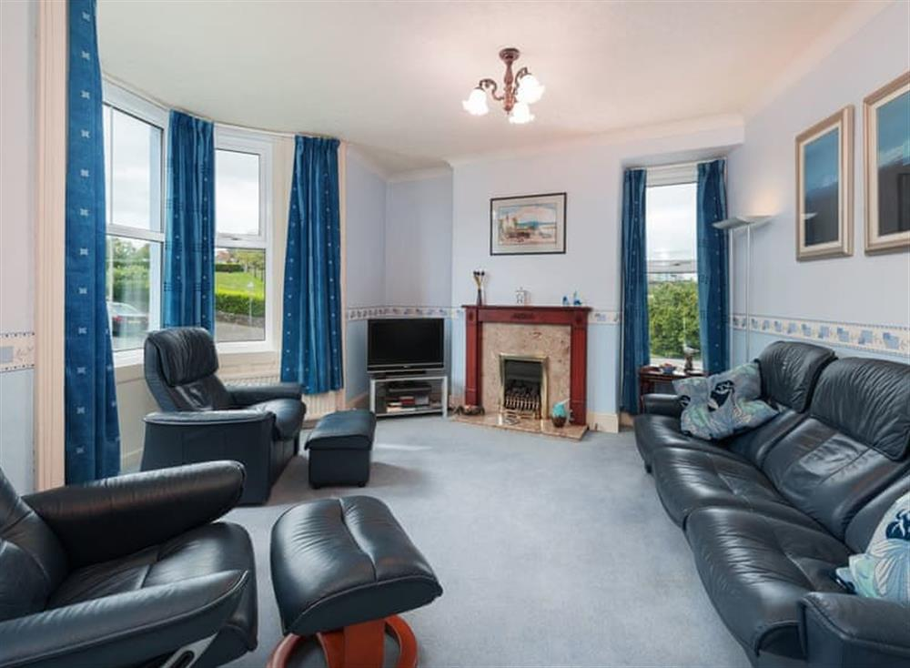 Living room at Creels in Brixham, South Devon