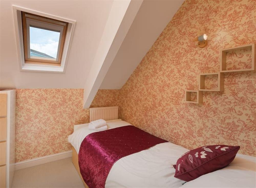 Single bedroom at Creels in Brixham, South Devon