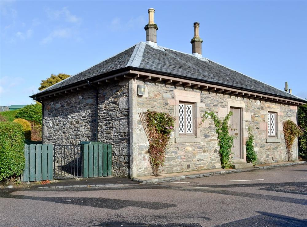 Exterior at Crescent Cottage in Luss, Dumbartonshire