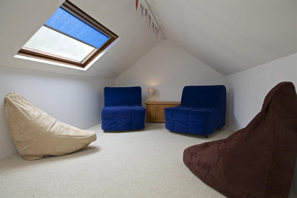 Attic retreat - a great space for relaxing at Crew House in Dart Marina, Dartmouth