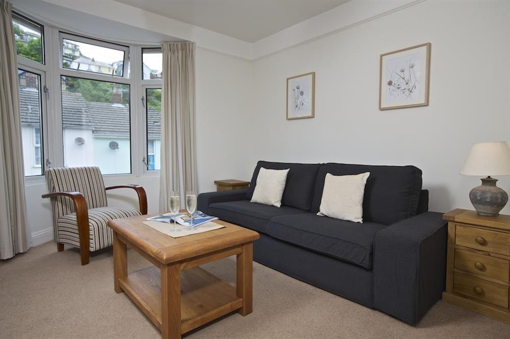 Comfortable lounge at Crew House in Dart Marina, Dartmouth