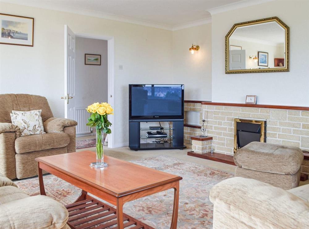 Living room at Crir Wylan in Fishguard, Pembrokeshire