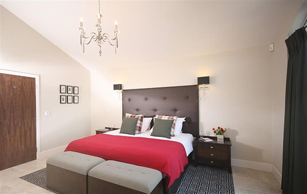 A typical bedroom at Crispin, Stoke by Nayland