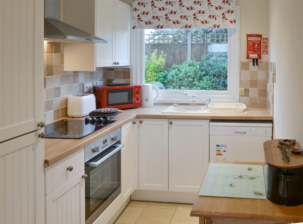 Kitchen at Crock of Gold in Bacton, Norfolk