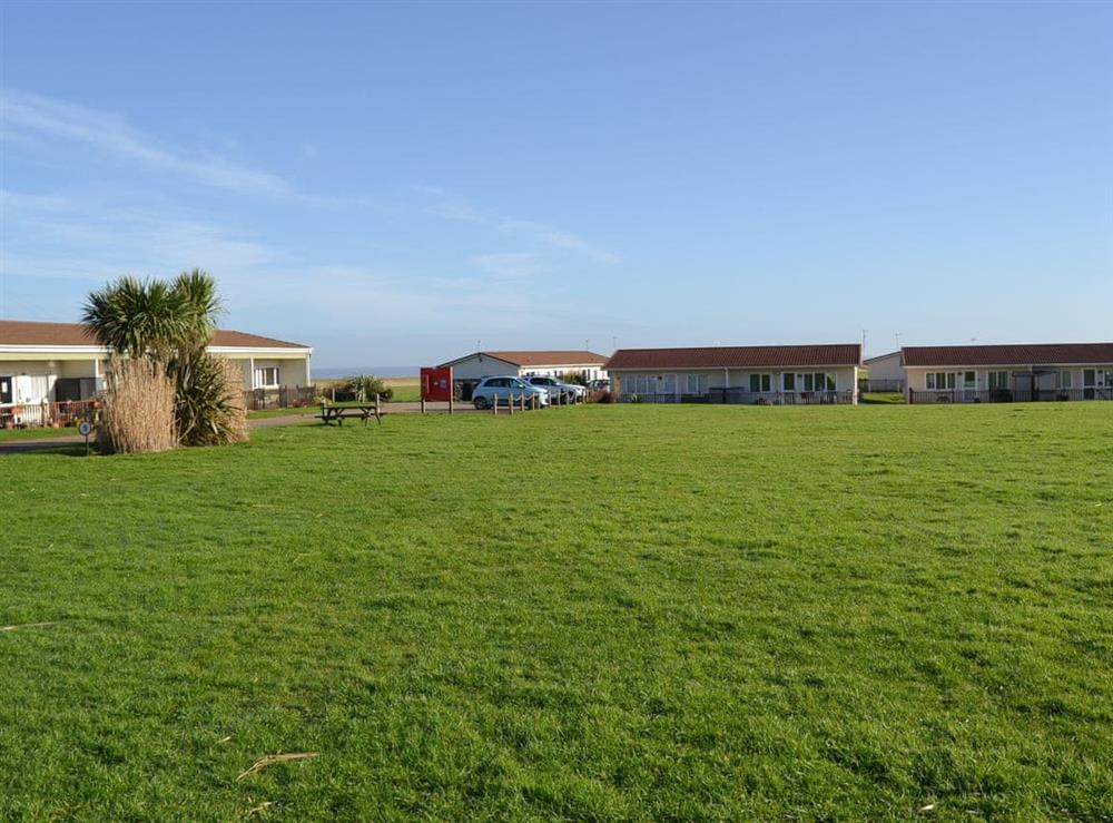 Large recreation area at Crock of Gold in Bacton, Norfolk