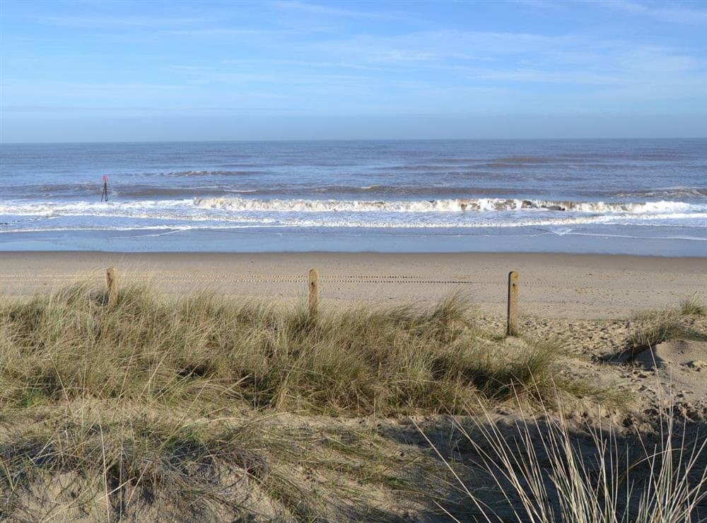 Local Beach at Crock of Gold in Bacton, Norfolk