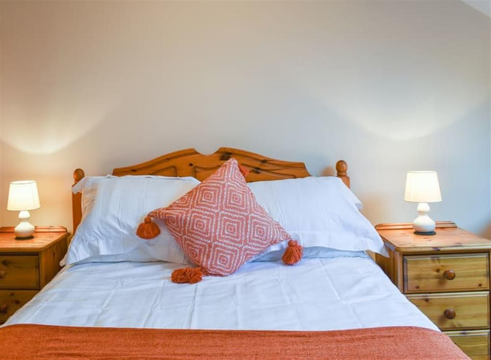 Comfortable and romantic double bedded room at Croft Cottage in Lydlinch, near Sturminster Newton, Dorset