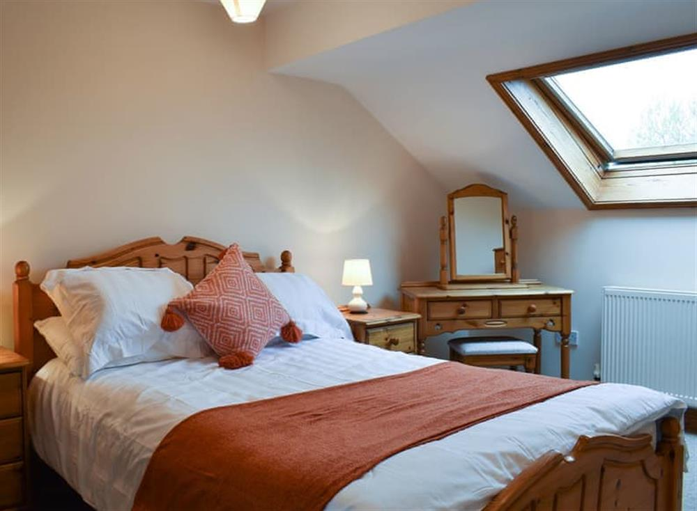 Welcoming bedroom with Velux window at Croft Cottage in Lydlinch, near Sturminster Newton, Dorset