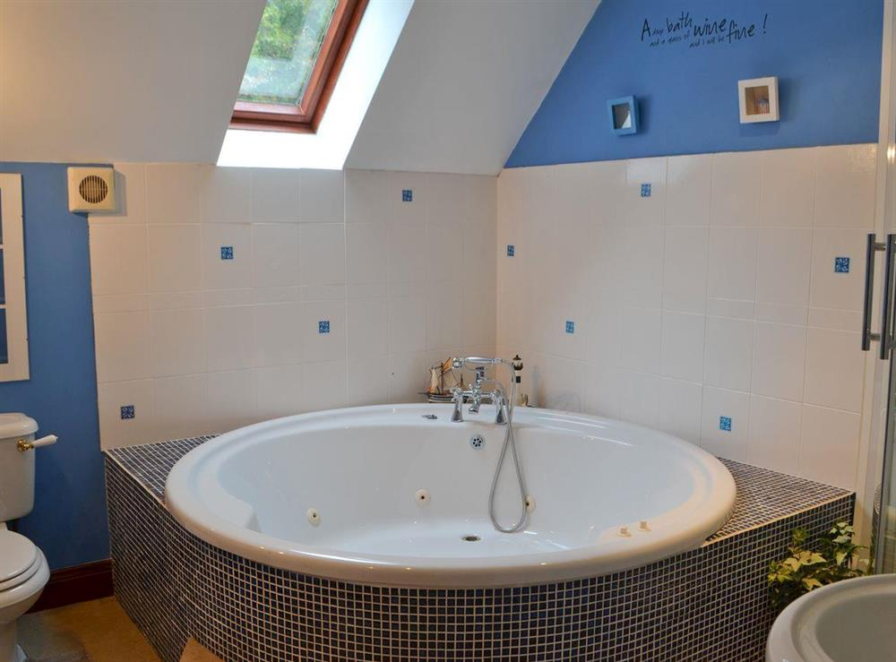 Bathroom at Croftmere in Cresswell, near Morpeth, Northumberland