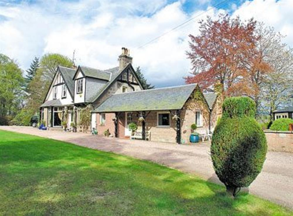 Photo 1 at Croiscrag Cottage in Aboyne, Aberdeenshire