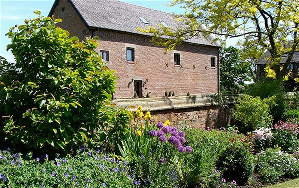 Delightful garden at Cromwells Manor, near Nantwich