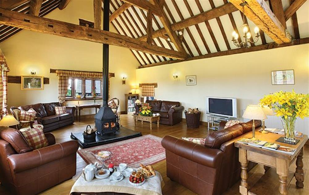 First floor:  Open plan sitting room at Cromwells Manor, near Nantwich