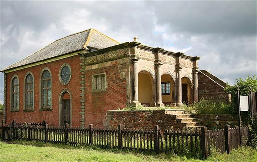 Woodhey Chapel (private family chapel) at Cromwells Manor, near Nantwich