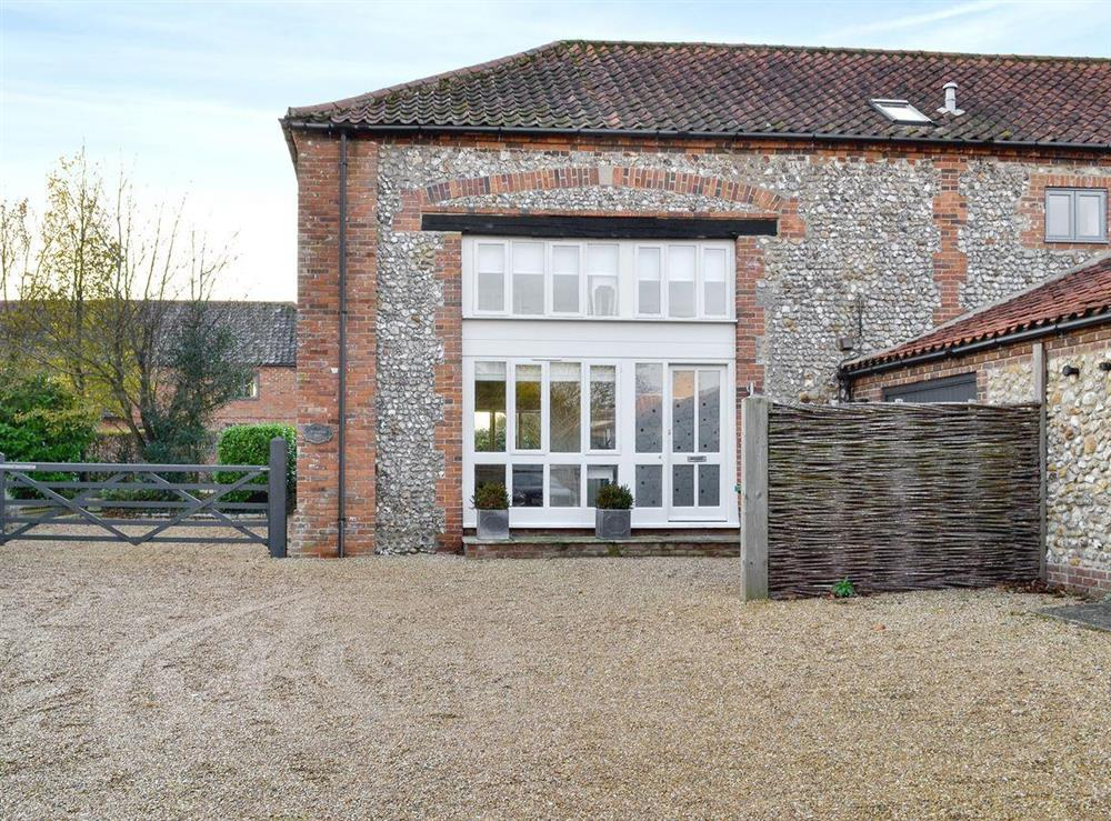 Charming holiday property at Crowberry Barn in Burnham Market, near Wells-next-the-Sea, Norfolk