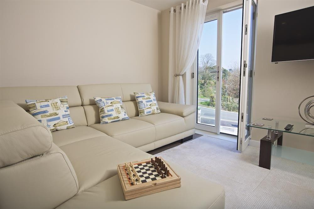 A bright and sunny open-plan area with lovely views over the town at Crowthers in , Dartmouth