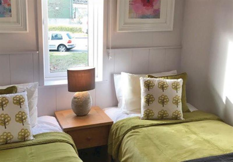 Twin bedroom in Dune View at Croyde Coastal Retreats in Croyde, North Devon