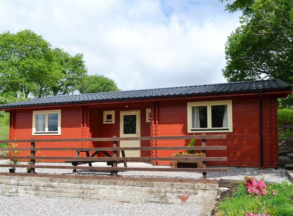 Cosy cabin close to Fort William
