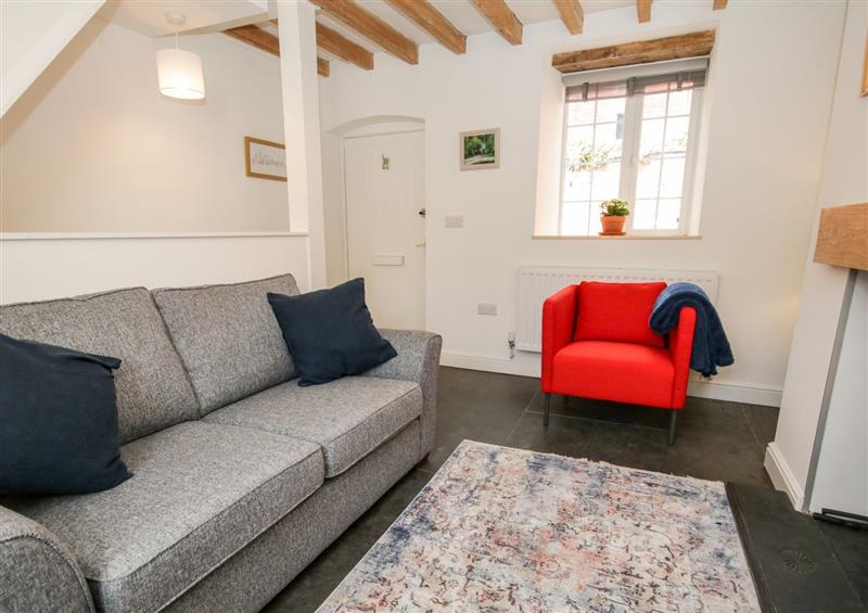 Relax in the living area at Cuddfan, Llangollen