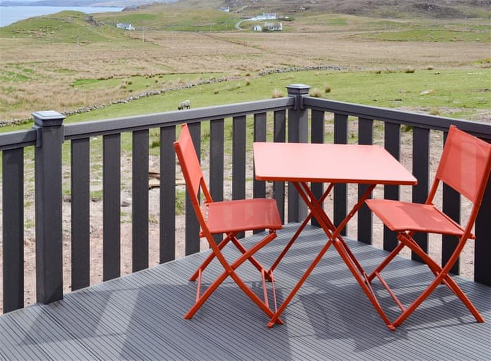 Views from Sgarbh at Culkein Pods