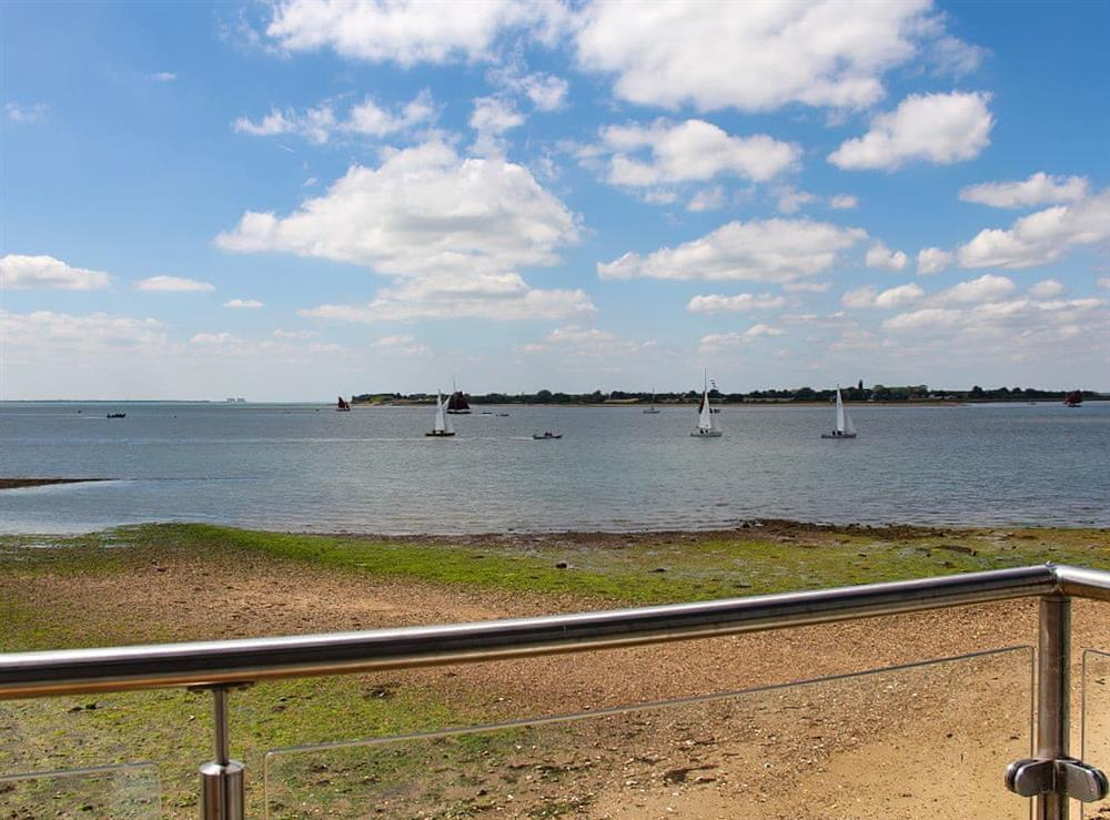 View at Curlew in Point Clear Bay, Essex