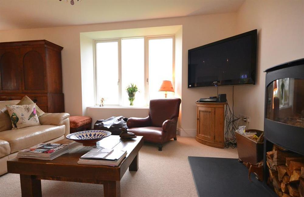 A closer look at the seating area at Cuttery House, East Allington