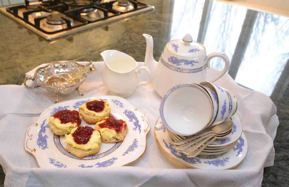 A great welcome awaits guests staying at Cuttery House at Cuttery House, East Allington