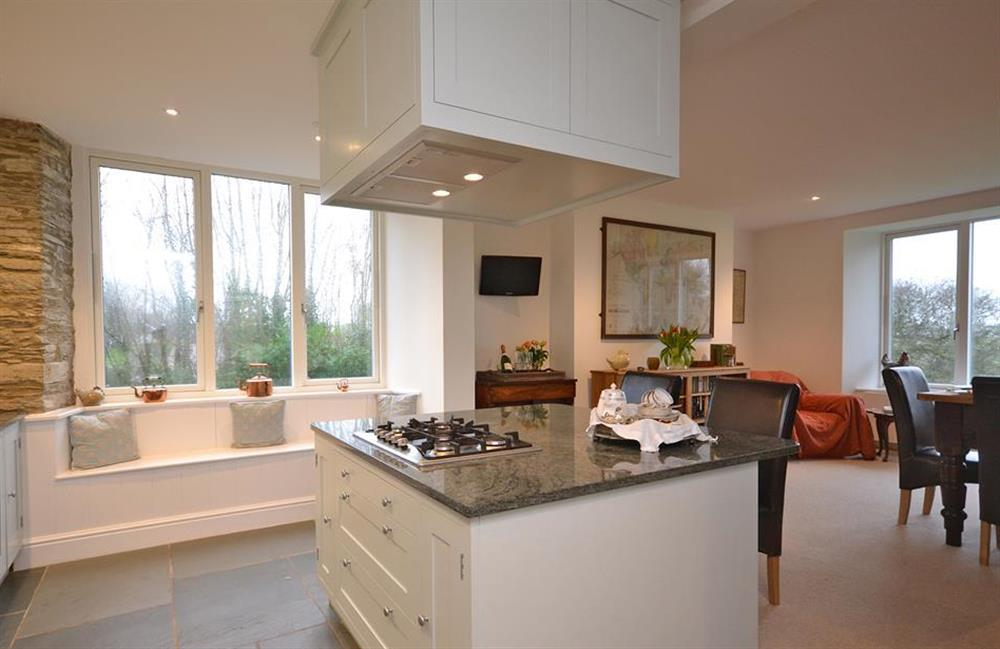 Another view of the kitchen and dining area at Cuttery House, East Allington
