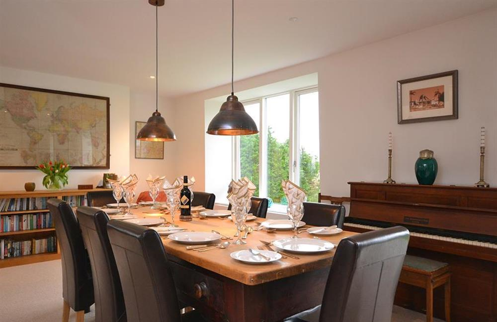 The dining area at Cuttery House, East Allington