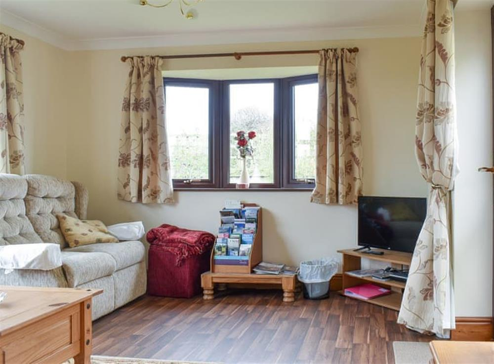 Welcoming living room at Dairy Annexe in Wisbech St Mary, Cambridgeshire