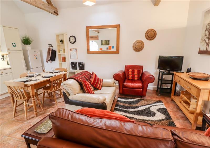 The living area at Dairy Cottage, Shelton near Long Bennington