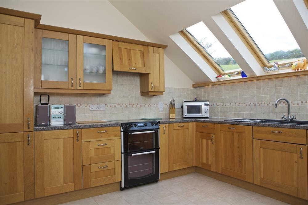 Kitchen at Daisy in Blackawton, Dartmouth