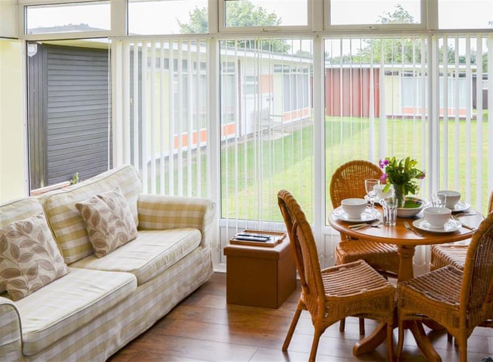 Open plan living space at Daphne in Stalham, Norfolk